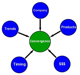 Synergy Worldwide Convergence Diagram