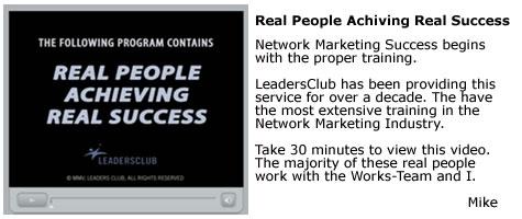 Leaders Club Video