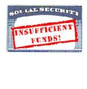 US Government Social Security: Insufficient Funds
